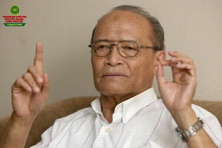Prof. Dr. Ahmad Syafii Maarif (Ketua Umum PP Muhammadiyah 2000-2005)